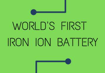 World's First Iron Ion battery