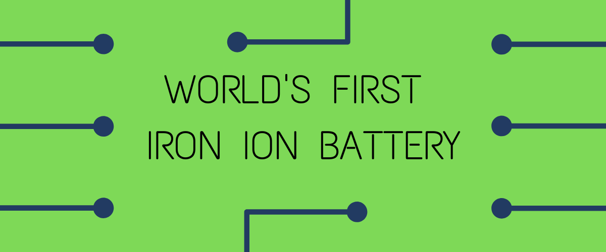 Iron Ion battery