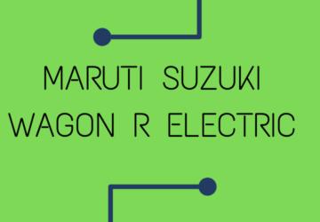 Maruti Suzuki Wagon R Electric
