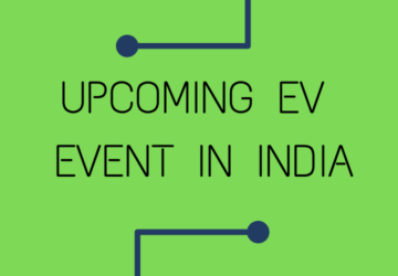 Upcoming EV Events In India