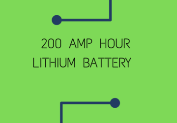 200 amp hour lithium ion battery