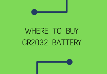 Where to buy CR2032 battery