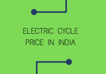 Electric Cycle Price In India 2021